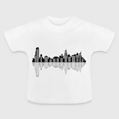 chicago skyline - Baby T-Shirt