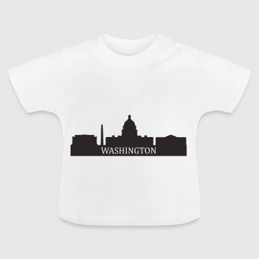 Washington Skyline - Baby T-Shirt