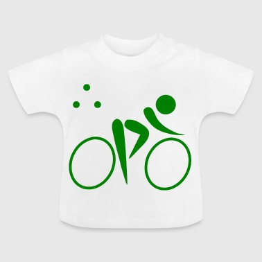 Triathlon Bike - Baby T-shirt