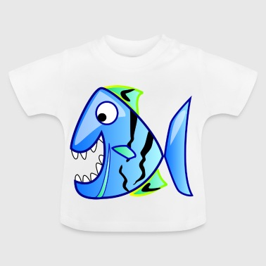 agradable Piranha - Camiseta bebé