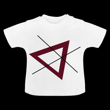 driehoek - Baby T-shirt