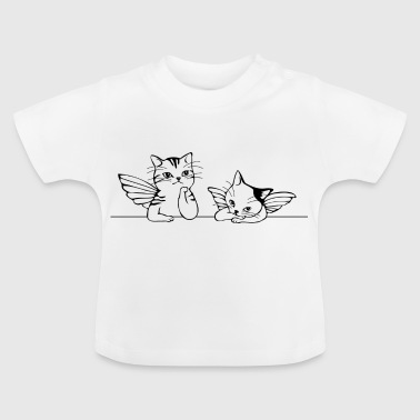 chats Angel - T-shirt Bébé