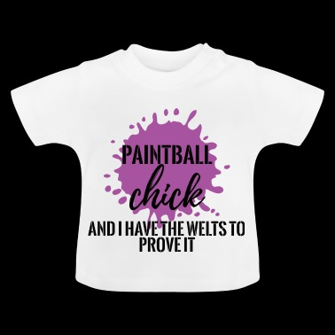 Paintball - Hobby - fritid - Gotcha - Gift - Baby-T-shirt