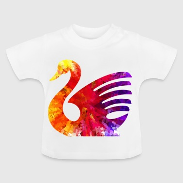 Colorful Swan - Baby T-Shirt