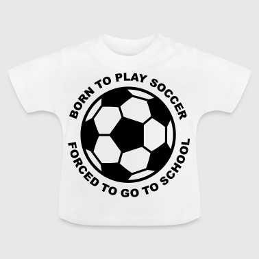 2541614 15552606 voetbal - Baby T-shirt