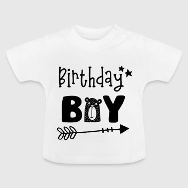 Birthday Boy - Boy födelsedag -Geburtstagsparty - Baby-T-shirt