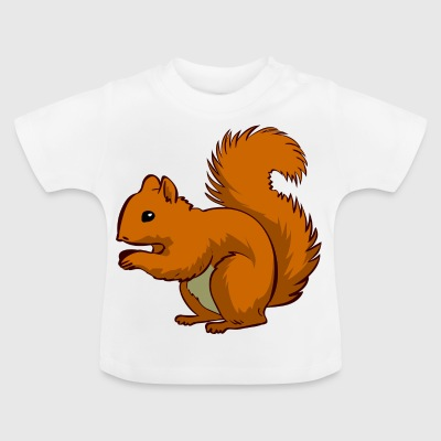 Ecki the squirrel - Baby T-Shirt