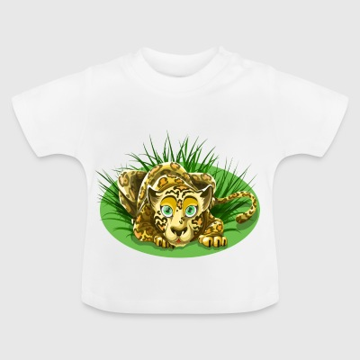 Cheetah in the grass - Baby T-Shirt