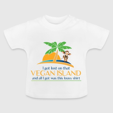 That Vegan Island Souvenir Tshirt - Baby T-shirt