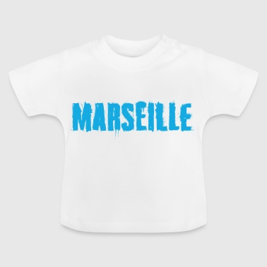 Marseille Graffiti Trash - T-shirt Bébé
