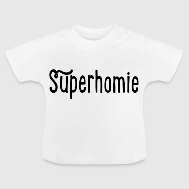 2541614 15757990 superhomie - T-shirt Bébé