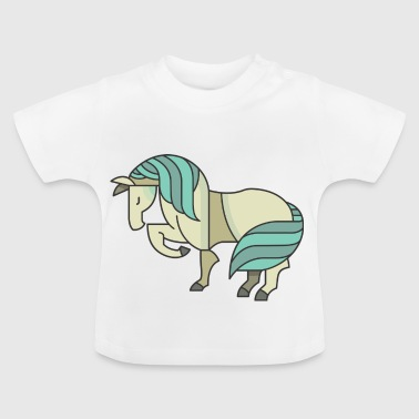 Horse departure - Baby T-Shirt