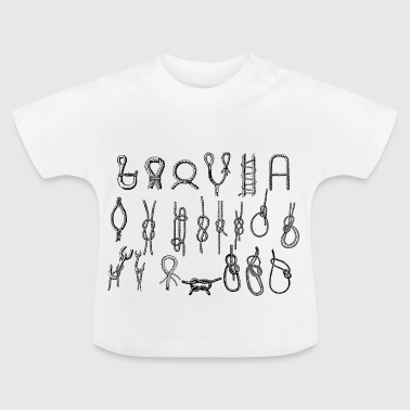 Node - for de sejlere? - Baby T-shirt
