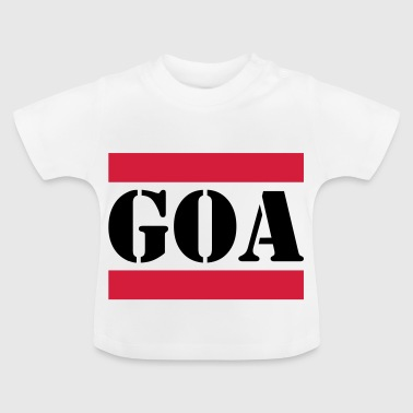 Goa with red lines - Baby T-Shirt