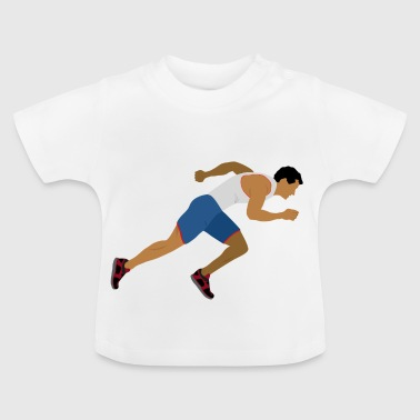 Athlete (sprinting) - Baby T-Shirt
