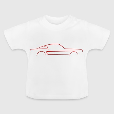 Fastback shelby GT500 sketch - Baby T-Shirt
