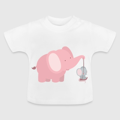 Unusual friendship - Baby T-Shirt
