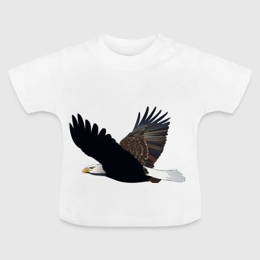 sea ​​eagle eagle bird voegel animal animals - Baby T-Shirt