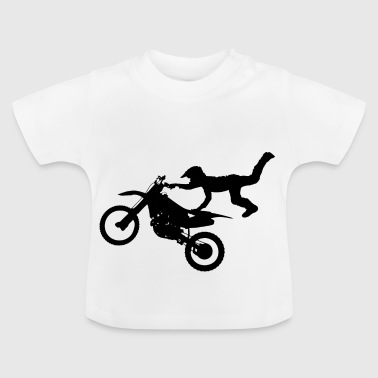 moto freestyle - Camiseta bebé