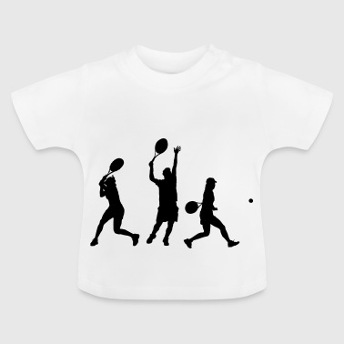 Tennis player - Baby T-Shirt