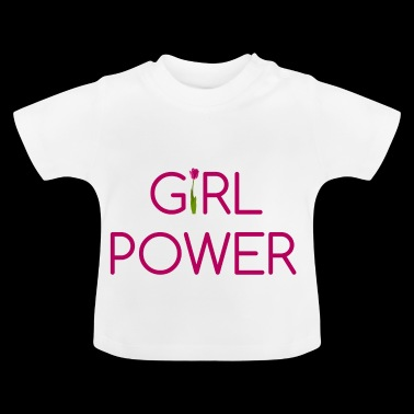 Girl Power - Camiseta bebé