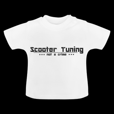Scooter Tuning no es un crimen - Camiseta bebé