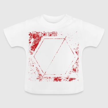stencil shield - Baby T-shirt