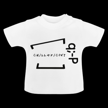Chillaxicon text with text! q -P - Baby T-Shirt