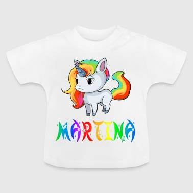 Unicorn Martina - Baby-T-shirt