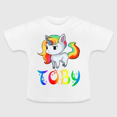 Unicorn Toby - Baby T-Shirt