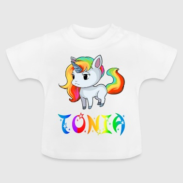 Unicorn Tonia - Baby-T-shirt