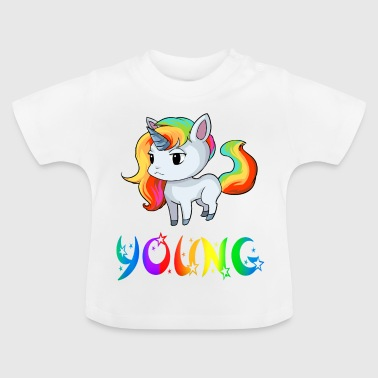 Unicorn Young - Baby T-Shirt