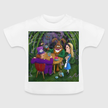 alice in wonderland thee pary - Baby T-shirt