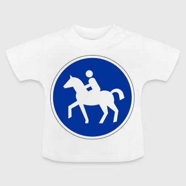 Horses allowed :) - Baby T-Shirt