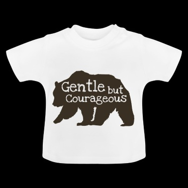 Brown Bear - Silueta - Camiseta bebé