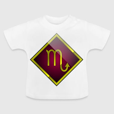 Skorpion Astrologie Horoskop - Baby T-Shirt