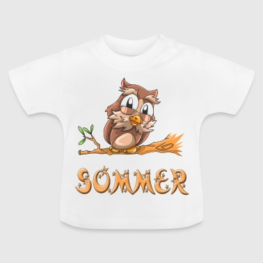 Owl summer - Baby T-Shirt