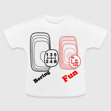 Gear shift four-wheel off-road vehicle Offroad - Baby T-Shirt
