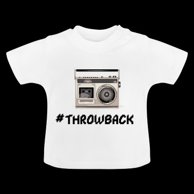 Radio Throwback - Maglietta per neonato