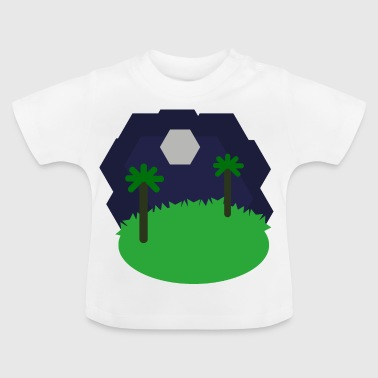 Landschaft Hexagonal - Baby T-Shirt