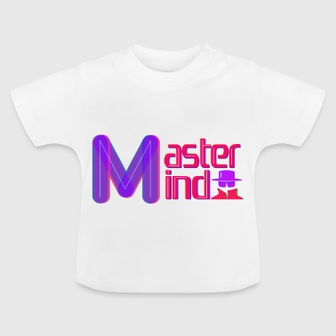 Mastermind lettering - Baby T-Shirt