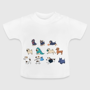 Cute dogs - Baby T-Shirt