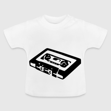 cassette audio - T-shirt Bébé