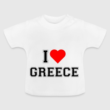 I love Greece - Baby T-Shirt