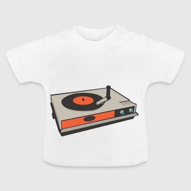 record player - Baby T-Shirt