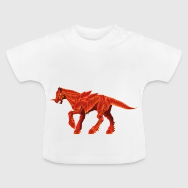Iron Unicorn - Eiseneinhorn - Baby T-Shirt