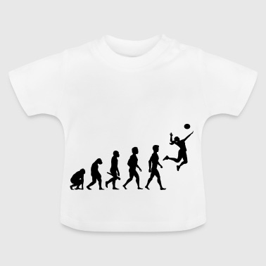 Volleyball Player Volleyball Player Evolution - Baby T-shirt