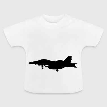 Jet fighter jet fly gaveide - Baby-T-skjorte