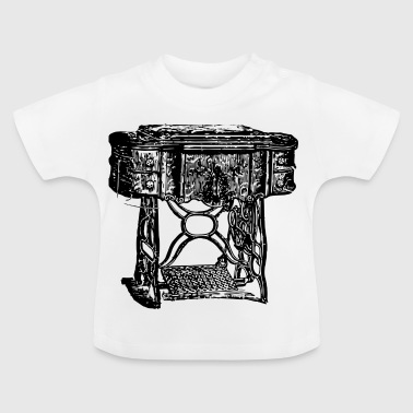 Antik,Nähmaschiene,alternative - Baby T-Shirt