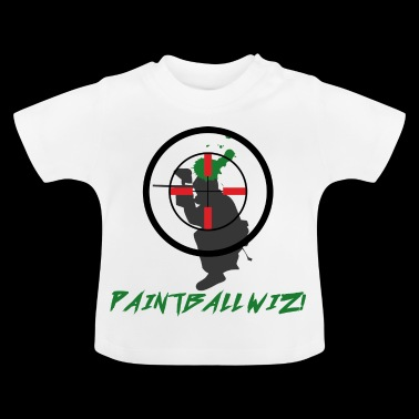 Paintball - Hobby - Ocio - Gotcha - Regalo - Camiseta bebé